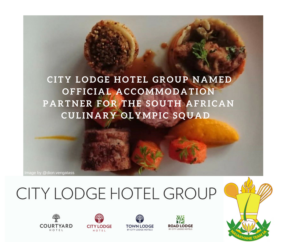 City Lodge Hotel Group Named Official Accommodation Partner for the South African Culinary Olympic Squad